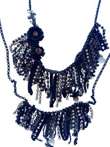 Juicy Couture Juicy Couture Crystal Necklace 2 In 1