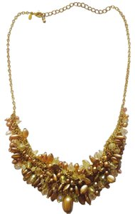 Belk Gold Pearl Necklace