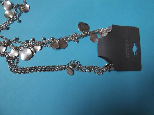 Other NWT Layered Silver Chains with Circles