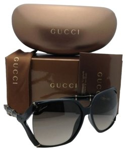 Gucci New GUCCI Sunglasses GG 3508/S D28HA 58-16 Black Frame w/ Grey Gradient Lenses