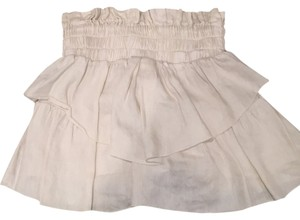 Isabel Marant Mini Skirt Ivory