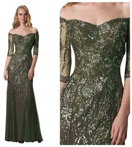 Feriani Couture Gown Evening Size 14 Mother Of Bride Dress