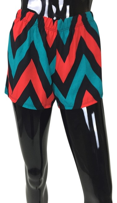 Other Zig Zag Red Blue Black Board Shorts Multi