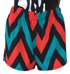 Other Zig Zag Blue Red Black Board Shorts Multi
