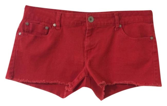 Preload https://img-static.tradesy.com/item/9187102/refuge-jeans-red-cut-off-shorts-size-10-m-31-0-3-650-650.jpg