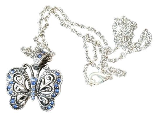 Preload https://img-static.tradesy.com/item/9187525/silver-and-blue-butterfly-necklace-0-1-540-540.jpg