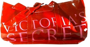 Victoria's Secret red/pink Beach Bag