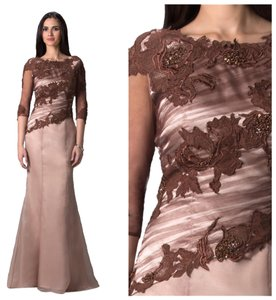 Feriani Couture Sequance Gown Dress