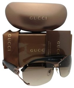 Gucci New GUCCI Sunglasses GG 2820/F/S VTC5E Brown Frames w/ Crystals & Brown Gradient Lenses