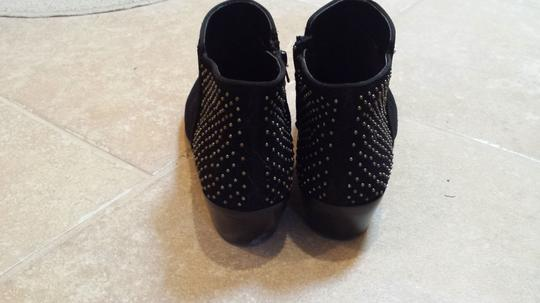 Steve Madden Black with studs Boots