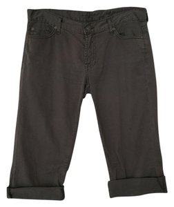 7 For All Mankind Capris Dark Gray