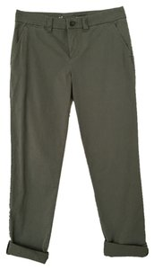 Gap Straight Pants Army Green