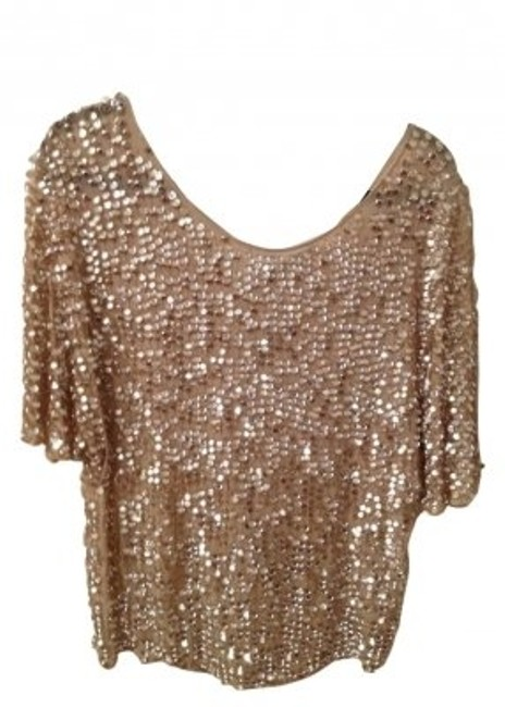 Preload https://item5.tradesy.com/images/zara-sparkle-gold-night-out-top-size-8-m-9189-0-0.jpg?width=400&height=650