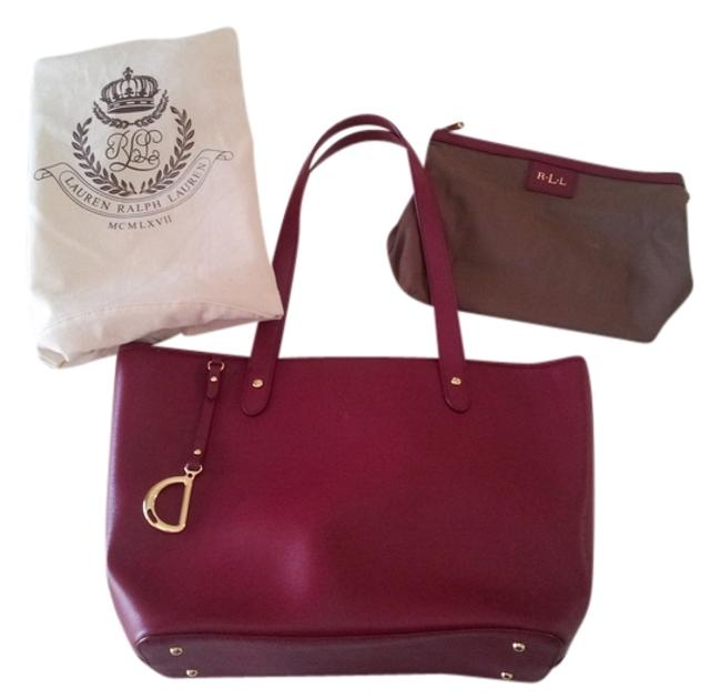 Item - Newberry Red Leather Tote