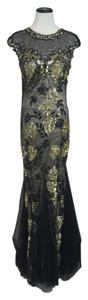 Feriani Couture Black Gown Black Size 10 Dress
