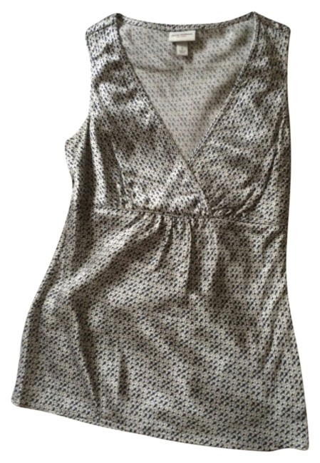 Preload https://item3.tradesy.com/images/isaac-mizrahi-silver-and-blue-tank-topcami-size-4-s-9190057-0-1.jpg?width=400&height=650