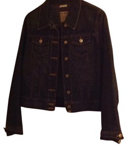 Old Navy Darkwash blue Womens Jean Jacket
