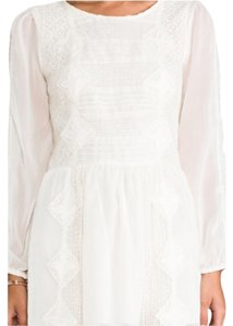 Free People short dress Ivory Leigh on Tradesy