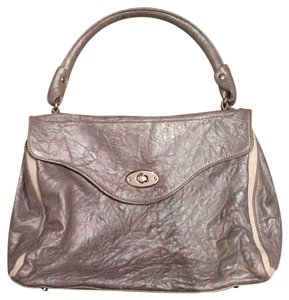 Pallie Bags Satchel in Silver Gray