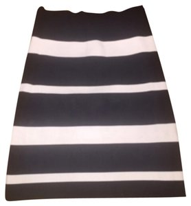 BCBGMAXAZRIA Skirt Black & White