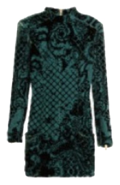 Item - Emerald Green 24-3564 Mid-length Night Out Dress Size 12 (L)