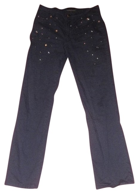 Preload https://item5.tradesy.com/images/roccobarocco-navy-dark-rinse-straight-with-silver-stars-attached-2930-mint-rare-boot-cut-jeans-size--919349-0-0.jpg?width=400&height=650