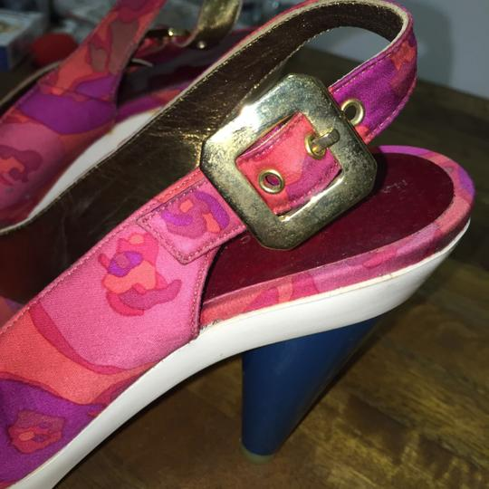 Marc by Marc Jacobs magenta Platforms