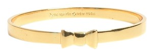 Kate Spade Kate Spade New York Take a Bow Bangle Gold Tone Bracelet