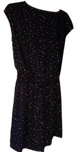 H&M short dress Black with star print. on Tradesy