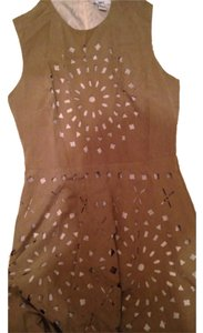 Bar III short dress Suede cut out. on Tradesy