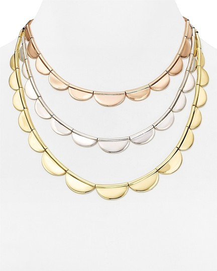 products sweet gold scallop spark s necklace trifari