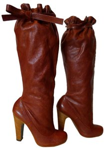 Marc Jacobs Burgundy Brown/Burgundy Boots