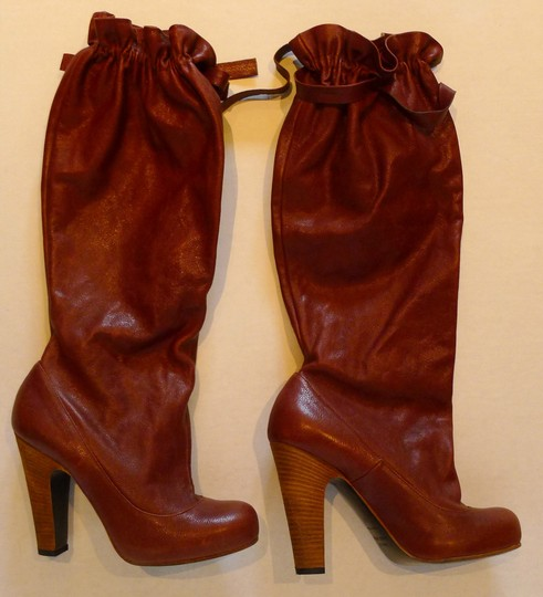 Marc Jacobs Brown/Burgundy Boots