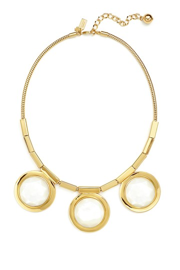 Kate Spade Modern Flare with Impeccable Style! Kate Spade Polish Up Necklace NWT Reminiscent Of Cruise Ship Port Holes!