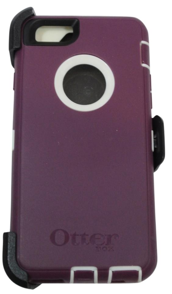 OtterBox Purple and White New Defender Iphone 6 Case (4 7) Tech Accessory  50% off retail
