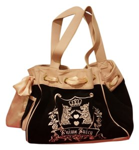 Juicy Couture Tote in Black, pink, Gold