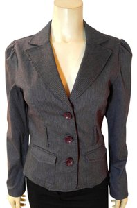 Grass Collection Jacket Size Medium P1873 gray Blazer