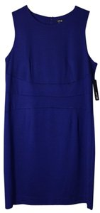 Apt. 9 short dress Navy Blue Pencil Dress 1x on Tradesy