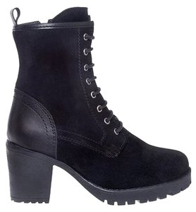 Chelsea Crew Suede Leather Fall Black Boots