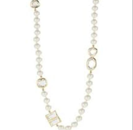 Kate Spade Great Modern Update On Long Single Strand Pearls! Kate Spade Pearlescent Bauble Necklace! Perfect for Office to Evening in a LBD! Totally Wrapable!