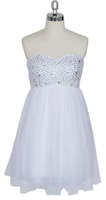 Preload https://item4.tradesy.com/images/white-crystal-beads-bodice-sweetheart-short-above-knee-formal-dress-size-14-l-919733-0-0.jpg?width=400&height=650