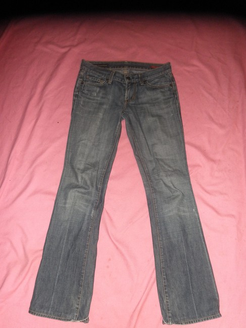 Citizens of Humanity Kelly 001 Low Waist Size 25. Some Wear At The Bottom. Boot Cut Jeans-Medium Wash