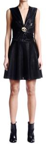 Just Cavalli short dress Sparkle Black on Tradesy