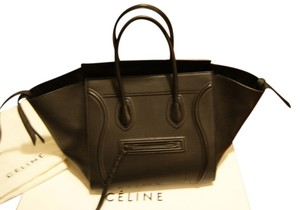 Céline Phantom Phantom Tote Tote Designer House Of Luaggage Phantom Tote Phantom Satchel in Black