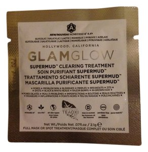 Glamglow Glam glow supermud clearing treatment mask travel size packet
