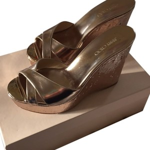 Jimmy Choo Gold Wedges Gold Wedges