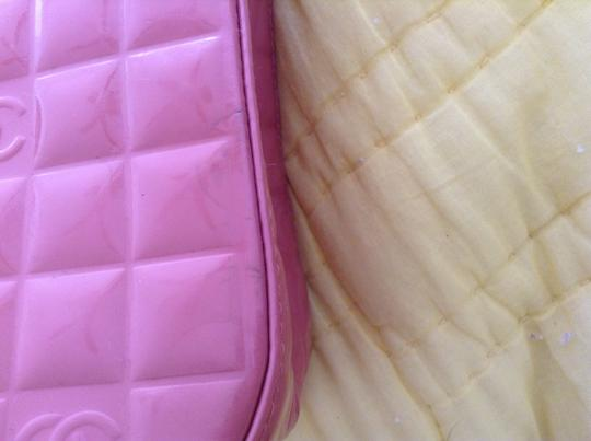 Chanel Tote in Patent leather pink