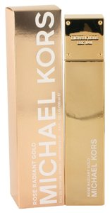 Michael Kors Rose Radiant Gold Womens Perfume 3.4 oz 100 oz Eau De Parfum Spray