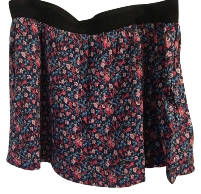 Old Navy Pockets Floral Mini Skirt
