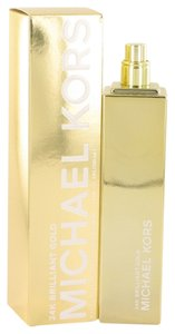 Michael Kors 24k Brilliant Gold Womens Perfume 3.4 oz 100 oz Eau De Parfum Spray